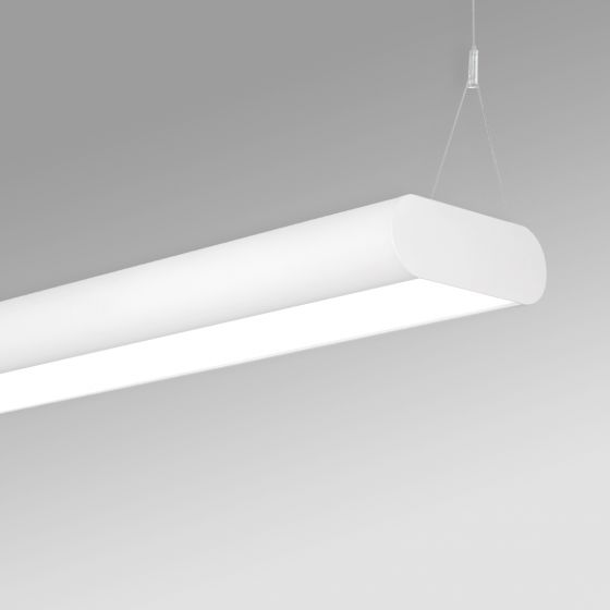 Image 1 of Alcon 12503-P Antimicrobial LED Linear Capsule Pendant Light