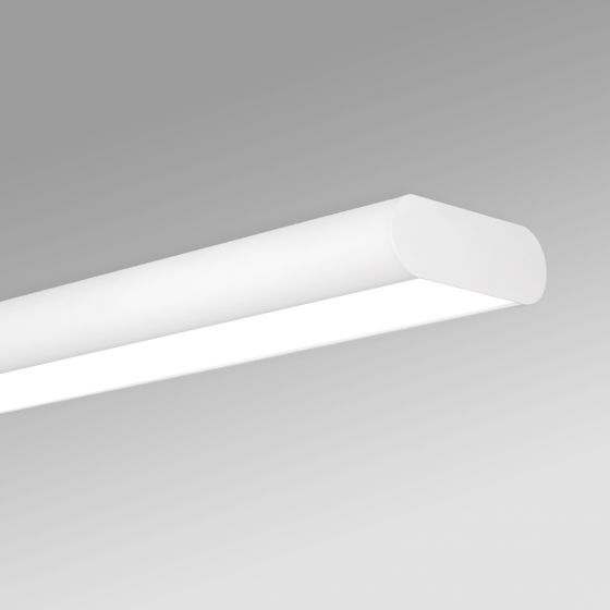 Image 1 of Alcon 12503-S Antimicrobial LED Surface-Mounted Linear Ceiling Light