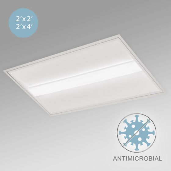 Image 1 of Alcon 12508 Antimicrobial Architectural LED Troffer Light
