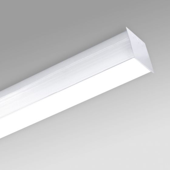 Image 1 of Alcon 12511-S Antimicrobial Ceiling Surface-Mounted Linear LED Cube Light