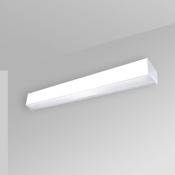 Image 1 of Alcon 12511-W Antimicrobial Wall-Mounted Linear LED Cube Light