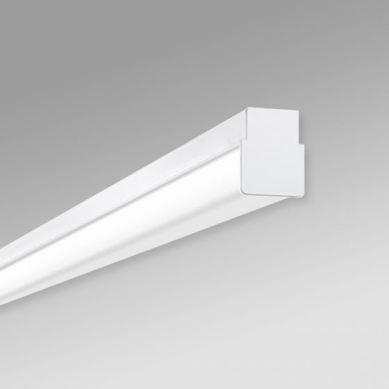 Image 1 of Alcon 12513-S Linear Antimicrobial LED Slim Linear Surface-Mounted Ceiling Light
