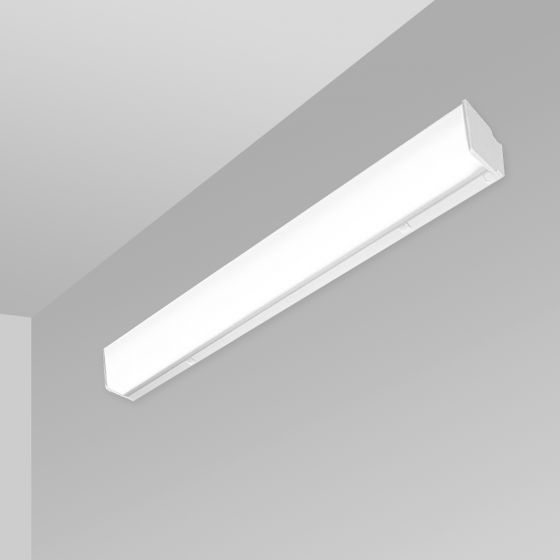 Image 1 of Alcon 12513-W Antimicrobial Linear Wall-Mounted LED Light