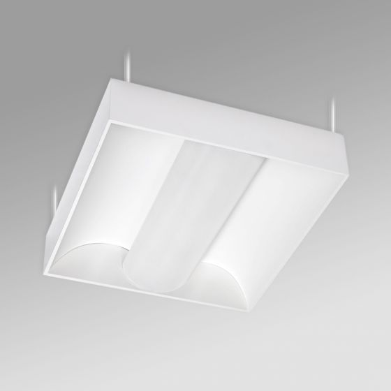 Image 1 of Alcon 12514-P Center Basket Antimicrobial LED Low Bay Pendant Light