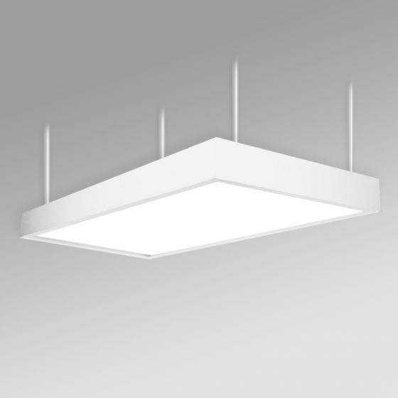 Image 1 of Alcon 12515-P Panel Antimicrobial LED Low Bay Pendant Light
