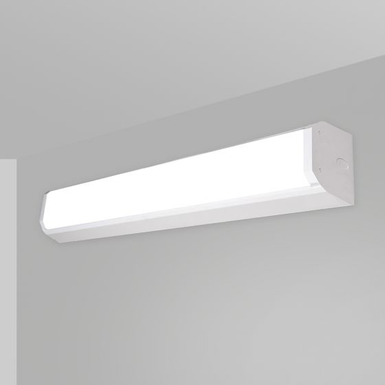 Image 1 of Alcon 12517-W Linear Antimicrobial LED Wall Light