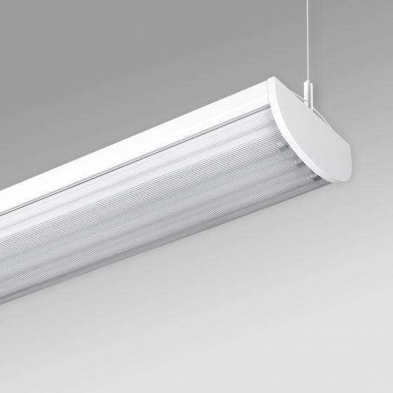 Image 1 of Alcon 12518-P Linear Antimicrobial LED Pendant Light
