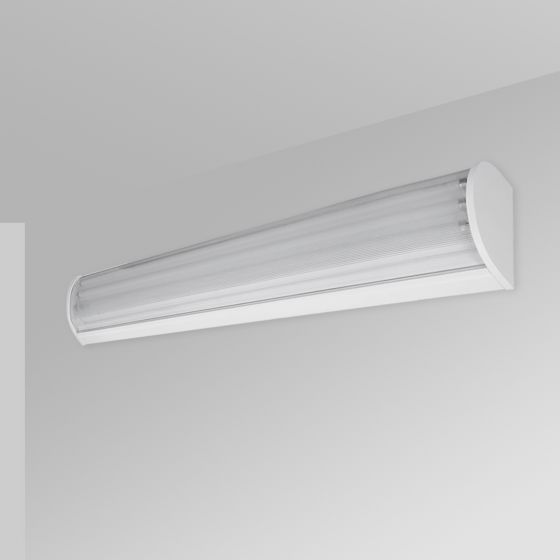 Image 1 of Alcon 12518-W Linear Wall Mount Antimicrobial LED Light