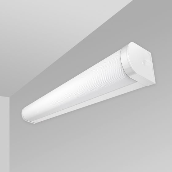 Image 1 of Alcon 12519-W Linear Antimicrobial Wall Mount LED Light