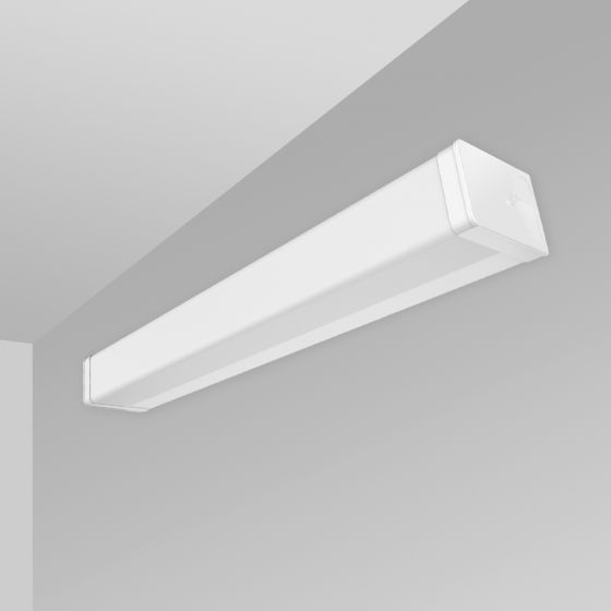 Image 1 of Alcon 12520-W Linear Antimicrobial Wall Mount LED Light