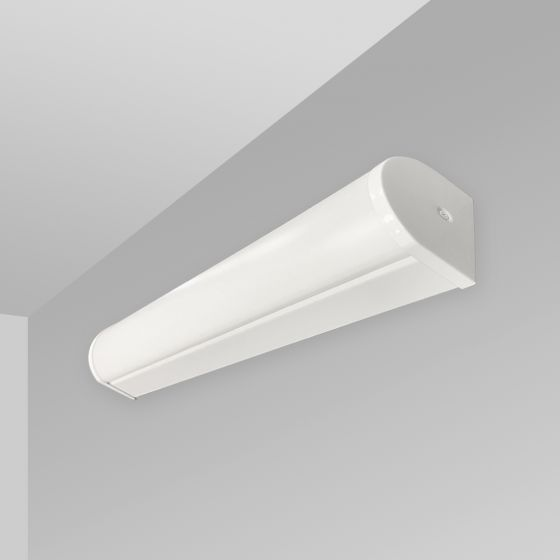 Image 1 of Alcon 12521-W Linear Antimicrobial Wall Mount LED Light