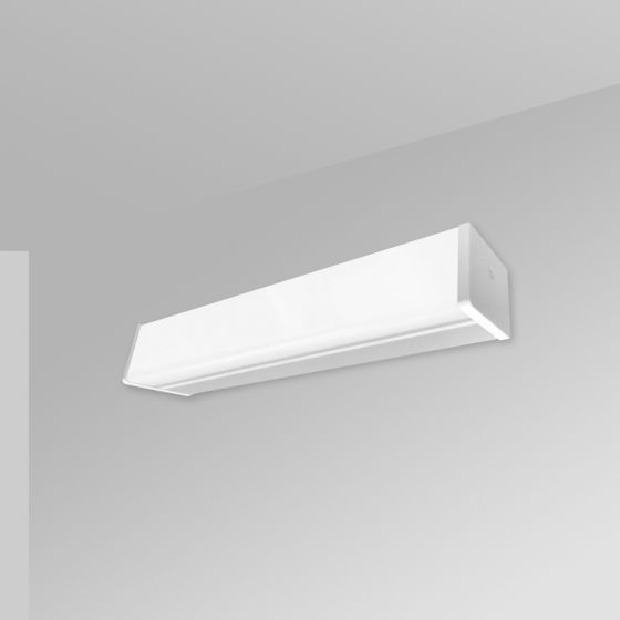 Image 1 of Alcon 12522-W Linear Antimicrobial Wall Mount LED Light