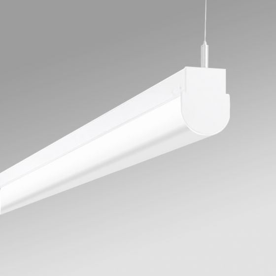 Image 1 of Alcon 12527-P Antimicrobial Rounded Linear Pendant LED Light