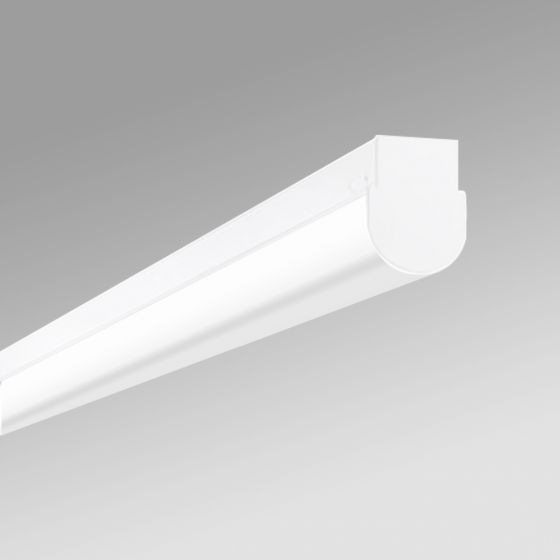 Image 1 of Alcon 12527-S Antimicrobial Rounded Linear Surface-Mounted Ceiling LED Light