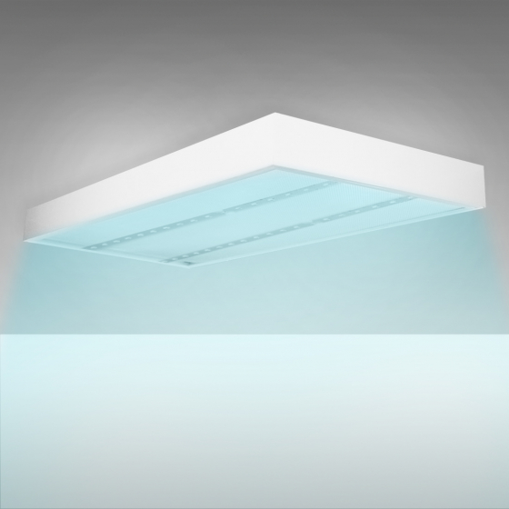 Image 1 of Alcon 12530 Surface-Mounted UVC Disinfection Ceiling Light with Antimicrobial Paint
