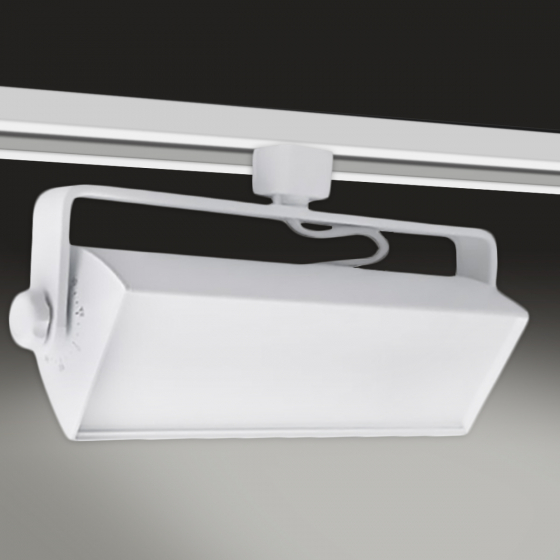 Image 1 of Alcon 13125 Adjustable Swivel Wall Wash Track LED Tracklight