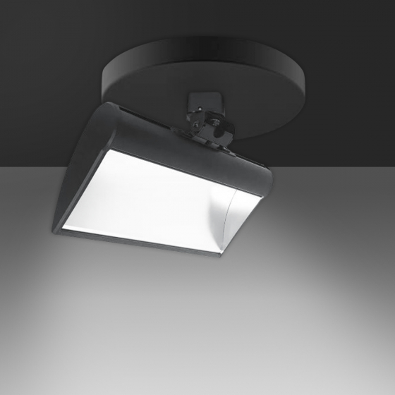 Image 1 of Alcon 13252 Metropolitan LED Wall Wash Architectural Track Light