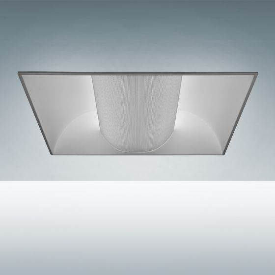 Image 1 of Alcon Lighting 14000 Elite Architectural LED Recessed Center Basket Perforated Direct Light Troffer