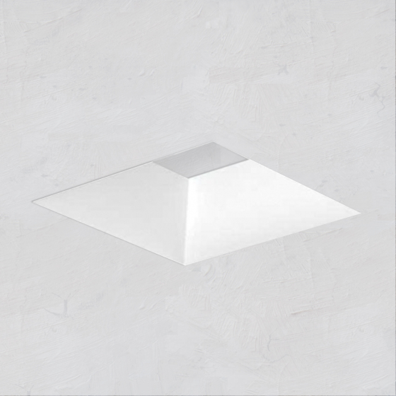 Image 1 of Alcon 14006-2 Illusione 3-Inch Architectural Open Reflector LED Square Recessed Light