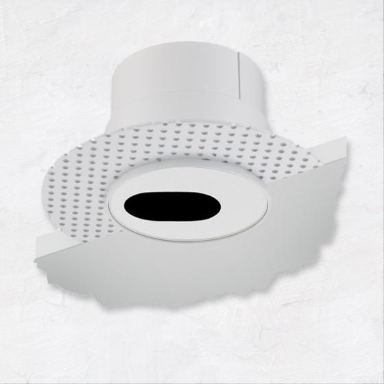 Image 1 of Alcon 14013-S Illusione 4-Inch LED Slot Recessed Light