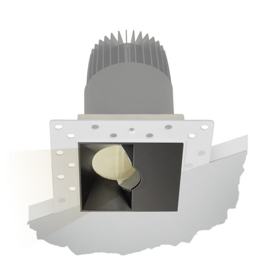 Image 1 of Alcon Lighting 14073-WW Illusione 2.5 Inch Architectural LED Square Trimless Recessed Wall Wash Light Fixture