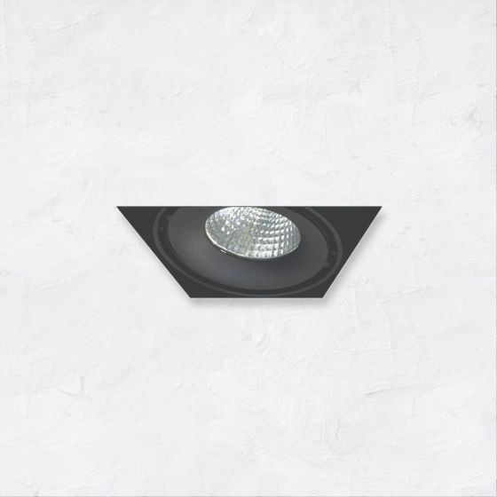 Image 1 of Alcon 14026-1 Oculare 1-Head Trimless Adjustable LED Recessed Light