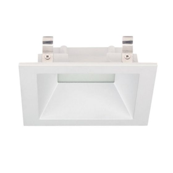 Image 1 of Alcon Lighting 14031-1 Architectural 3 Inch Square LED Recessed Light Fixture - Frosted Lens