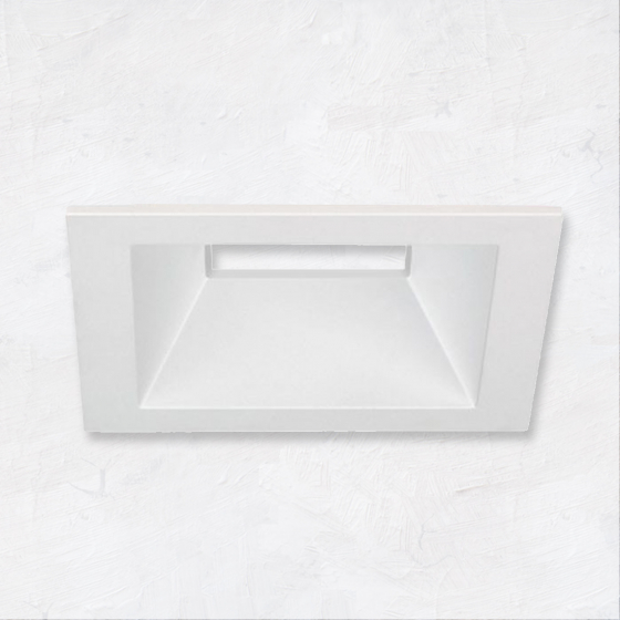 Image 1 of Alcon 14031-2 3-Inch Square Architectural LED Open Reflector Recessed Light