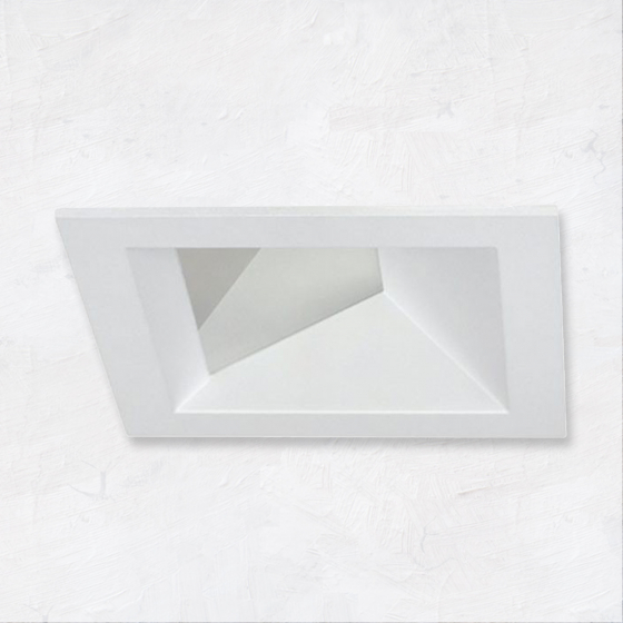 Image 1 of Alcon 14031-3 3-Inch Square Architectural LED Wall Wash Recessed Light