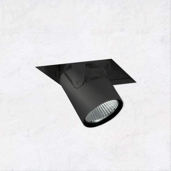 Image 1 of Alcon 14113-1 Oculare Architectural LED Adjustable 1-Head Pull-Down Fixture