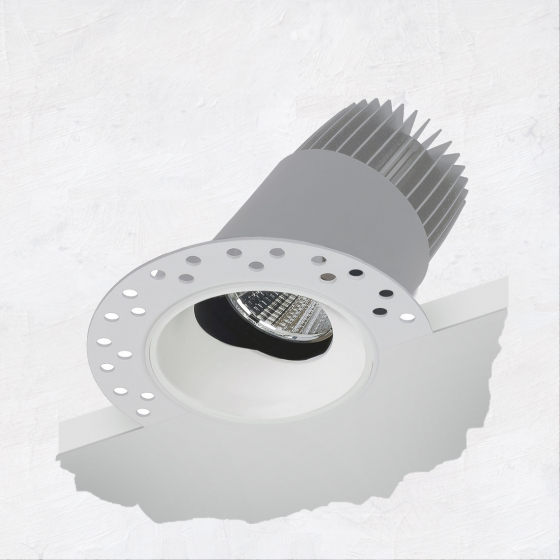 Image 1 of Alcon 14121-ADJ 2.5-Inch Recessed LED Adjustable Light
