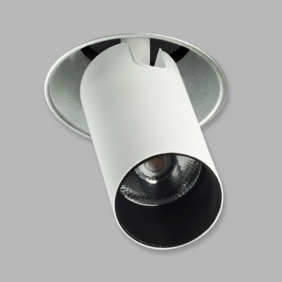 Image 1 of Alcon 14121-PL 2.5 Inch LED Recessed Adjustable Trimless Pulldown Light