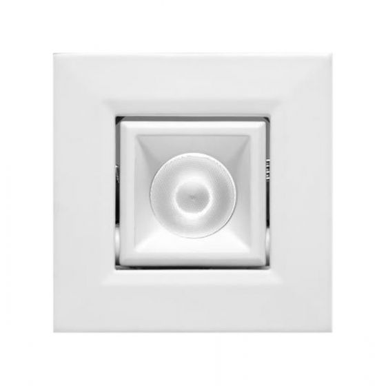 Image 1 of Alcon 14142-S-ADJ Recessed 1-Inch Square Adjustable Outdoor LED Light
