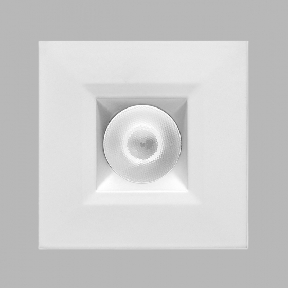 Image 1 of Alcon 14142-S-DIR Recessed 1-Inch Miniature Fixed-Square LED Downlight