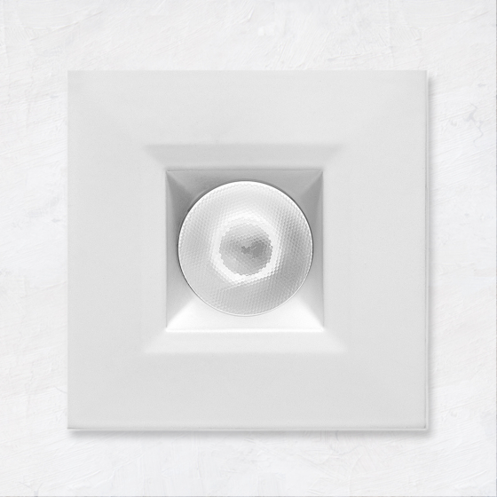 Image 1 of Alcon 14142-S-DIR Recessed Multiples 1-Inch Miniature LED Fixed Square Outdoor Light