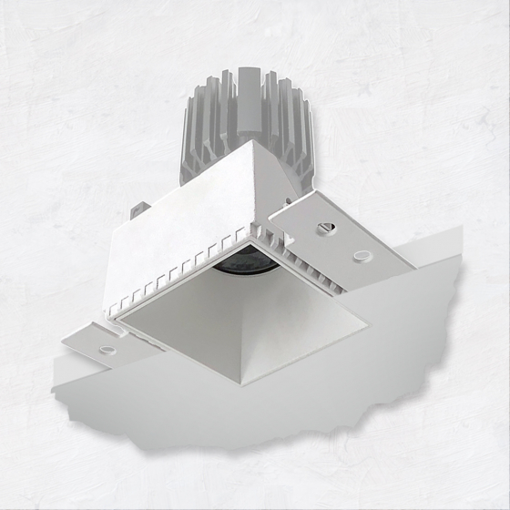 Image 1 of Alcon 14143-S 3-Inch Recessed LED Square Light