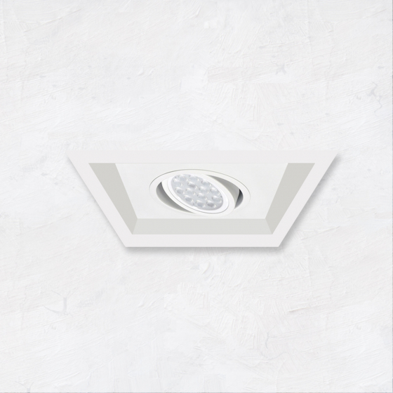 Image 1 of Alcon 14300-1 Oculare 1-Head Multiple Flanged Adjustable LED Recessed Light