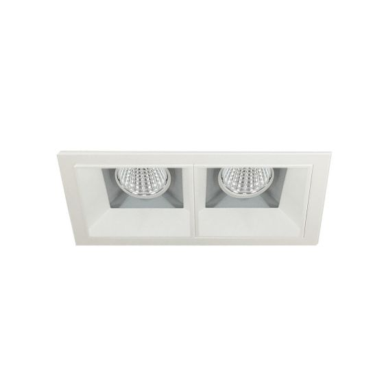 Image 1 of Alcon 14310-2 Oculare LED Architectural 2-Head Multiple Recessed Lighting System Fixture
