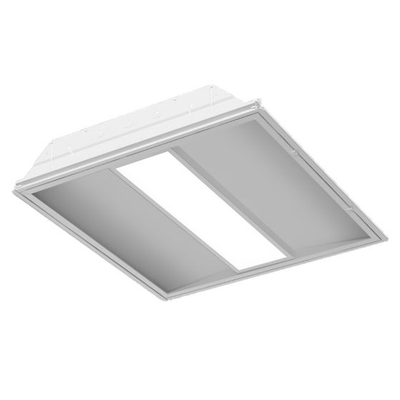 Image 1 of Alcon Lighting 14726 Crystalline Series Architectural LED Recessed Direct Light Troffer