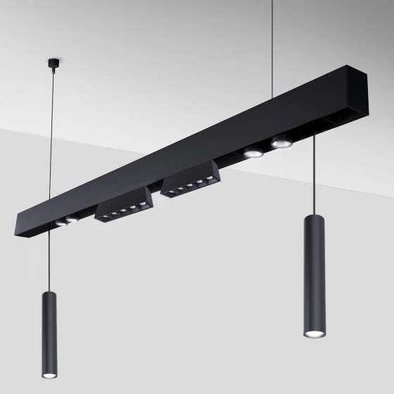 Image 1 of Alcon 15100-P Linear Pendant LED Modular System