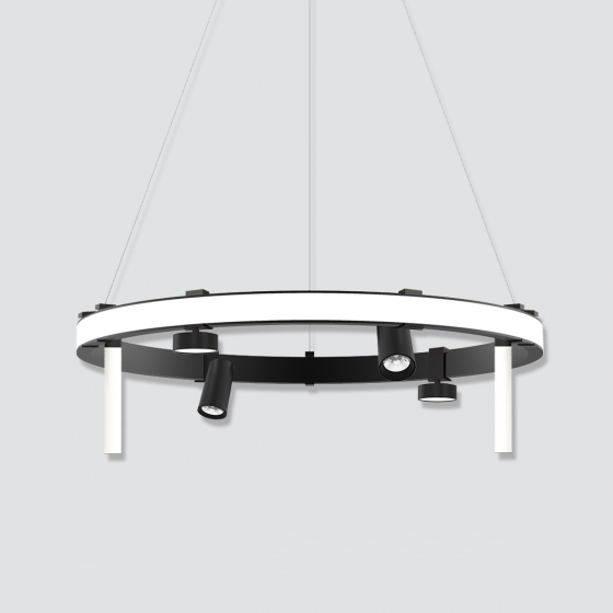 Image 1 of Alcon 15120 Exterior Rounded Pendant LED Lighting System