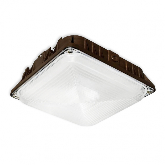 Image 1 of Alcon 16001 CPY LED Low Profile High-Efficiency Canopy Light