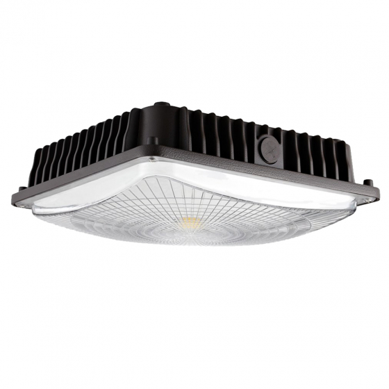 Image 1 of Alcon 16005 10-Inch Square LED Canopy Light