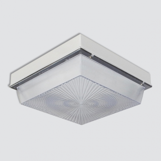 Image 1 of Alcon 16008 Low-Profile Aluminum LED Canopy Light
