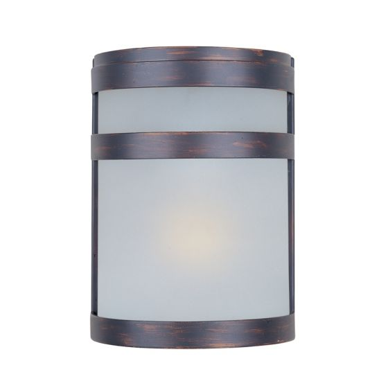 Image 1 of Maxim Lighting 5000FTSST Arc 1-Light Outdoor Wall Sconce