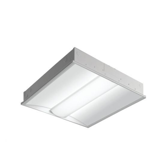 Image 1 of Cooper Class R3 Rectangular Perforated Inlay LED Recessed Light Fixture