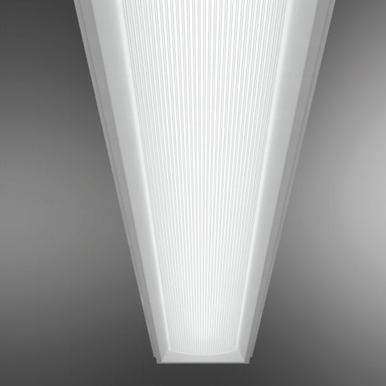 Image 1 of Cooper Class R6 Linear Prismatic Lens T5 Fluorescent Recessed Light