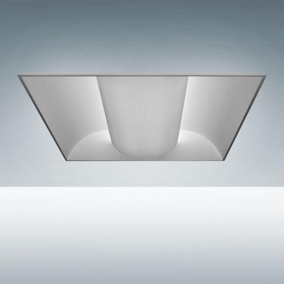 Image 1 of Alcon 24000 Elite Architectural LED Recessed Center Basket Direct Light Troffer