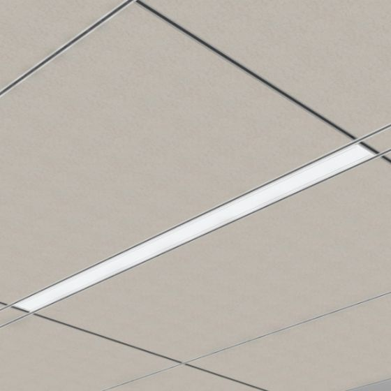 Image 1 of Cooper 22DR Straight and Narrow LED Recessed Light Fixture