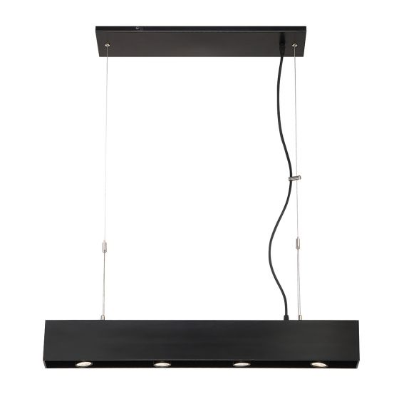 Image 1 of Alcon Lighting 12163 Ashen 4-Light LED Architectural Pendant